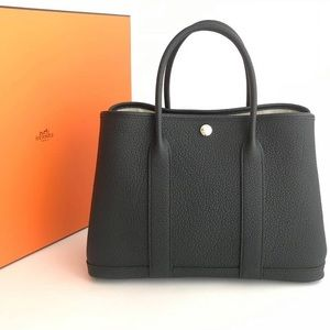 Hermes Garden Party 36 medium leather tote bag